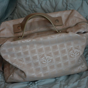 Chanel overnight travel bag